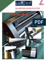 Manual Plotter Redsail Instalación