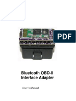 Bluetooth OBDII Manual