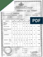 Kerala State Mark Sheet 2009 Sample Calculation