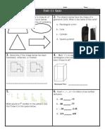 unit 11 math quiz