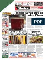 Weekly Choice 20p 032014