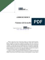 Bierce, Ambrose - Visiones de la noche.doc
