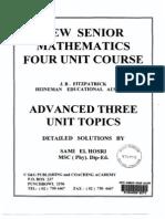 Fitzpatrick Advanced 3 Unit Solutions