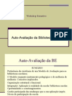 Apresentação do Modelo de Auto-avaliação BE