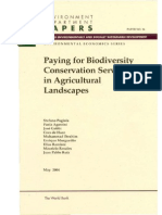 Paying for Biodiversity Cons. Services