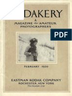 Kodakery, February, 1920
