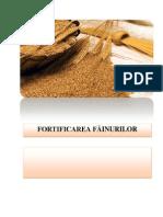 Fortificarea fainurilor