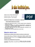 Historia Das Instituições 1
