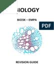 Biology synoptic essay