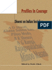 Profiles in Courage - Dissent on Indian Socialism
