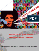 Pedagogical Principles of Teachg Young Learners