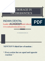 Anchorage in Orthodontics (2) / orthodontic courses by Indian dental academy