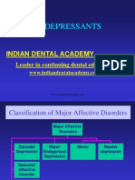 Antidepressantsol General Dentistry / orthodontic courses by Indian dental academy