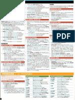 German Grammar Charts