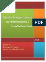 Proyecto Diseño de Algoritmos y su Programacion 2.docx