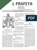 BOLETIN El Profeta 11 Mayo 2014