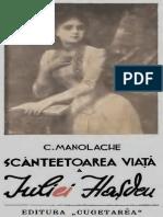 C. Manolache - Scanteetoarea Viata a Iuliei Hasdeu [Ibuc.info]