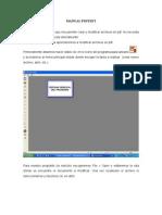 Manual Pdfedit