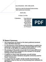S11 IEEE IEC ComparisonReport on Transformers