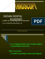 Arthroscopy Oral Surgery / orthodontic courses by Indian dental academy