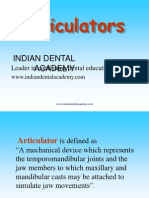 Articulator Crown &Bridge / orthodontic courses by Indian dental academy