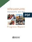 MCA Progress Report 2012 13