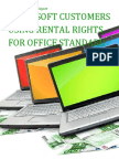 Microsoft Customers using Rental Rights for Office Standard - Sales Intelligence™ Report