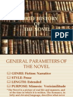 power point - history of the novel source unknown
