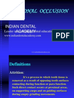 Attritional Occlusion - Ortho / orthodontic courses by Indian dental academy
