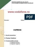 Proiect Vodafone