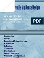 Basic Removable Orthodontic Appliences