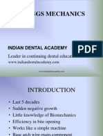 Begg Mechanics ORTHO / orthodontic courses by Indian dental academy
