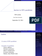 Parallelism - parallel computing