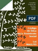 Codigo de Etica Do Assistente Social Lei 8662