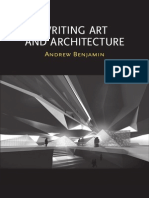 Writing art and architecture - andrew