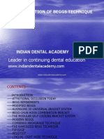 Beggs Modifications Ortho / orthodontic courses by Indian dental academy