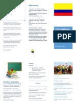 edu 365 colombian culture brochure