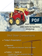 Skid Steer Comparisons