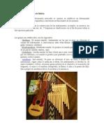 Instrumentos Musicales de Bolivia
