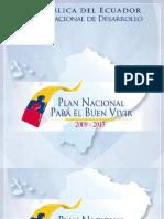 Versión Completa Plan Nacional Del Buen Vivir 2009-2013 PNBV