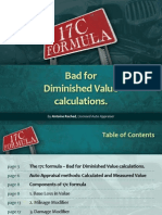 17c Formula eBook - Diminished Value Claims