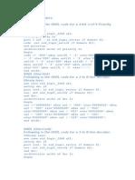 47240550 VHDL Programs