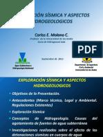 Sismica y Agua Subterranea_Carlos Molano
