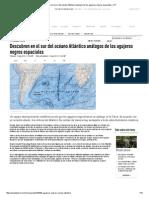 Descubren en El Sur Del Océano Atlántico Análogos de Los Agujeros Negros Espaciales – RT