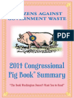 Congressional Pig Book 2014 Citizens Against Government Waste