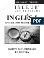 ESL Spanish I Book