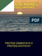 Protocollo protesico