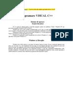 Programare VISUAL C++