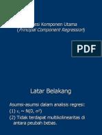 RKU presentasions regresi komponen utama