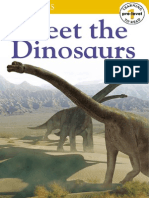 DK Readers - Meet the Dinosaurs (Pre-Level 1)